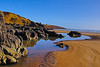 Rock Hall (Keith (foggybummer)) Tags: lowtide mearns northsea stcyrusbeach beach milton redsandstone rocky sand
