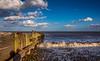 Beside the seaside (Peter Leigh50) Tags: beach coast sea seascape sky skyscape wave pebble landscape fujifilm fuji xt10