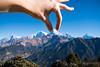 Catching the Annapurna South (rfabregatmoliner) Tags: mountain nilgiri annapurna annapurnai annapurnasouth hiunchuli poonhill ghorepani nepal himalaya travel travelphotography trekking nikon nikond750 hiking d750