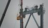 Sloop van de oude Botlekbrug (kees torn) Tags: botlekbrug botlek vlaardingen heavylift recycling jansenrecyclinggroup vlasmansloopwerken