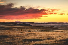 Wyoming (- Anthony Papa -) Tags: wyoming mountain sunset sky red orange landscape canon5dmkii canon united states america country laramie