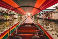 Bangkok by Longtail (IRRphotography) Tags: longtail river canal bangkok thailand ride houses travel tourist buildings