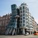 Predio dançante de Praga, de Frank Gehry
