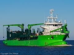Scheldt River (U. Heinze) Tags: cuxhaven elbe nordsee ship schiff schiffe vessel boot olympus