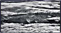 Flying over Alps (Ioan BACIVAROV Photography) Tags: fly flying alps panorama black white bacivarov ioanbacivarov bacivarovphotostream interesting beautiful wonderful wonderfulphoto nikon