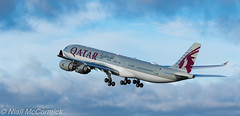 A7-HHH Qatar Amiri Flight Airbus A340-541 (Niall McCormick) Tags: dublin airport eidw aircraft airliner dub airplane plane a7hhh qatar amiri flight airbus a340541 a345 a340