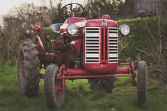 Old steel (Aby Images (M.)) Tags: canon eos 100d bretagne brittany finistère tracteur tractor rouge red campagne country vintage