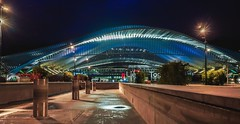 Liège Guillemins gare - 4658 (✵ΨᗩSᗰIᘉᗴ HᗴᘉS✵66 000 000 THXS) Tags: gare train liège night architecture blue hdr hensyasmine namur belgium wallonie europa aaa بلجيكا belgique namuroise proxi belga info look photo friends bélgica ベルギー белгия բելգիա belgio 벨기에 belgia бельгия 比利时 bel be ngc saariysqualitypictures wow yasminehensinterst intersting interestingness eu fr greatphotographers lanamuroise