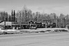 Downtown Willow (tpeters2600) Tags: alaska canon eos7d tamronaf18270mmf3563diiivcldasphericalif blackandwhite monochrome willow scenery