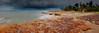 The waves (Louise Denton) Tags: nightcliff darwin nt northernterritory rain storm weather monsoon wetseason cloud shelfcloud rocks cliff sea landscape panorama canon 5dsr australia beach coast