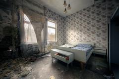 Větrání (Michal Seidl) Tags: abandoned verlassene ehemalige hotel hdr ruin opuštěný pension bývalý decay canon infiltration urbex germany