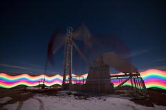 Oil (Lightcrafter Artistry) Tags: oil pump lightpainting longexposure nightphotography movement motion blur energy