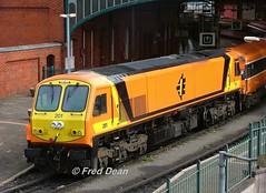 Irish Rail 201 at Kent Station. (Fred Dean Jnr) Tags: iarnrodeireann irishrail generalmotors 201class locomotive 201 kentstationcork may2006