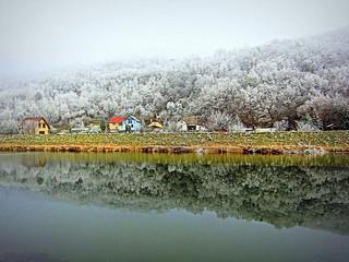 Frozen landscape, Slovakia