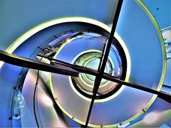 Spiral Staircase in Telefonica Building- MADRID  Escalera de Caracol Telefónica  - MADRID - España (Zana Suran) Tags: spiral staircase telefonica madrid escalera caracol telefónica españa blue spain eskailera стълбище 樓梯 portaikko escalier גרםמדרגות scala 階段 escala 계단 kāpnes laiptinė trappenhuis klatkaschodowa escadaria scară лестница trappa стубиште stopnišče schodiště сходи lépcső σκάλα treppe מדרגות सीढ़ी stubište laiptai schody บันได lépcsőház cầu thang 楼梯 tangga દાદર spirale espiral paikid kierre σπείρα कुंडली bíseach 나선スパイラル spirala spiraal спираль ספירלה