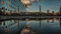 Boymans van Beuningen (Rotterdam) (Kijkdan) Tags: architecture rotterdam architectuur fujifilm boymans museum reflection