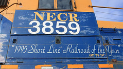 NECR 3859 (GLC 392) Tags: dgno garland tx texas necr new england central railroad railway train emd gp38dc 3859 gw rail america short line year