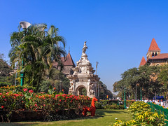 LR Mumbai 2015-552 (hunbille) Tags: birgittemumbai5lr india mumbai bombay fort hutatma chowk martyrs square martyrssquare flora fountain florafountain statue