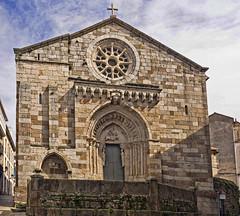 Iglesia de Santiago, A Coruña (Miguelanxo57) Tags: iglesia románico medieval fachada acoruña galicia