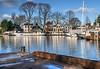 Grote Haven a.d. Nieuwendammerdijk (Skylark92) Tags: nederland netherlands holland noord north amsterdam nieuwendammerdijk nieuwendammerkade haven grote augustinuskerk hdr tonemapped