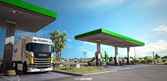 Scania S500 - PrimaFrio [ETS2] (gripshotz) Tags: scania s500 next gen primafrio chereau spain trailer euro truck simulator ets 2