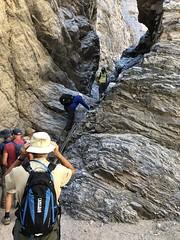 2018-02-15 GOPS Geology Hike (121) (MadeIn1953) Tags: 2018 201802 20180215 greatoutdoorsgo go gops greatoutdoorspalmspringsgops hiking california coachellavalley riversidecounty meccahills paintedcanyon laddercanyon slotcanyon ladder