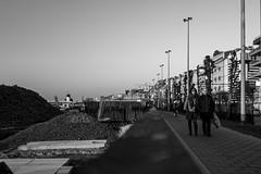 Saturday evening walk (Sjaco Manuputty) Tags: street streets streetphotography streetshot blackandwhite bnw people man woman antwerp antwerpen belgium belgie samyangaf35mmf14 samyang35mmf14 35mm