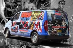 Hit Me Like a Truck (l plater) Tags: kingscomics pittstreet sydney