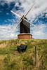 Just milling with the clouds (The Frustrated Photog (Anthony) ADPphotography) Tags: architecture brillwindmill buckinghamshire category england external places travel agriculture hill grass bench fencepost clouds whiteclouds bluesky windmill sails outdoor travelphotography landscapephotography canon1585mm canon70d canon sky