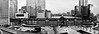 Tokyo Station (leopc.lin) Tags: bw fujifulm x100 fujufilx100 city panorama buildings street train station