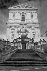 Santi Domenico e Sisto (Rome) (rickybon) Tags: church bw rome building pentaxk5 pentaxflickraward pentaxart pentax k5