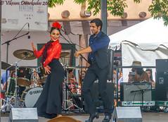 Flamenco Dancing, Spanish Market, Santa Fe, New Mexico, USA (vdwarkadas) Tags: flamenco dancing flamencodancing spanishmarket market artist dance santafe newmexico sony sonya6000 sonyilce6000