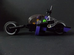 Catwoman Lunarcycle (SaurianSpacer) Tags: lego moc febrovery catwoman spacebike spacerover legobatmanmovie