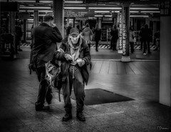 Life in the Tunnels Beneath New York City (TP17) Tags: newyorkcity newyork timessquare subway life people street