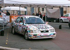 #01 Ford SIERRA COSWORTH 4X4 (kinsarvik) Tags: castillonlabataille gironde bordeauxaquitaineclassic rallye rally