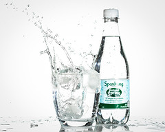 Poland Spring (Explored) (lclower19) Tags: 952 522018 water polandsprings pure product splash bottle glass advertisement sb600 explored odt