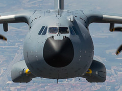 Jornada de Prensa A400M (Ejército del Aire Ministerio de Defensa España) Tags: a400m airbusa400m t23 avióndetransporte militaryplane ala31 dumbo hélice ejército del aire spanish air force aviación aviation