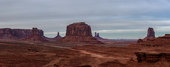 Valley of Monuments (armand.gerstenberger) Tags: ifttt 500px landscape mountain valley hill scenics scenery ridge scenic peak range snowcapped rolling red utah us monument midwest armand gerstenberger