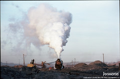 2017/12/30 JS8190 Sandaoling (Pocahontas®) Tags: js8190 steamlocomotive rail railway railroad sandaoling coalmine film film135 kodakektar