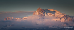 mountain sunset (Flox Papa) Tags: quand la montagne file au dodo megève france