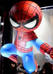 2017-Gentle Giant's Spider-Man Display at SDCC-04 (David Cummings62) Tags: sandiego ca calif california comiccon con david dave cummings 2017 spiderman marvel comics statue gentlegiant movies tvseries animated