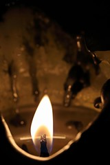 in the melting pot... HMM (Moni'cam ツ) Tags: macromondays flame candle