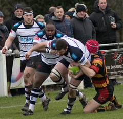 Kirkby Lonsdale 17 - 12 Preston Grasshoppers January 27, 2018 24331.jpg (Mick Craig) Tags: 4g kirkbylonsdale action hoppers prestongrasshoppers agp preston lightfootgreen union fulwood upthehoppers rugby lancashire rugger sports uk