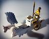 Athena (Don_ko) Tags: lego moc athena collectible minifigures greek pegasus chariot