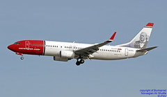 EI-FHV LEMD 12-01-2018 (Burmarrad (Mark) Camenzuli Thank you for the 10.7) Tags: airline norwegian air shuttle aircraft boeing 7378jp registration eifhv cn 40870 lemd 12012018