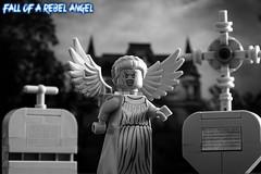 Fall of a rebel angel (test shot) (y20frank) Tags: lego angel heaven rebelangel rebel minifigures fallenangel