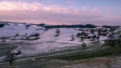 ~ morning symphony ~ (SteffPicture) Tags: morgenstimmung morning morninglight landscape snow sky switzerland myswitzerland baum landschaft gras steffpicture stephanreber strasse feld wald