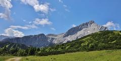 view to the Alpspitze (Hugo von Schreck) Tags: hugovonschreck landschaft germany bavaria europe alpspitze canoneos5dsr tamron28300mmf3563divcpzda010 ngc