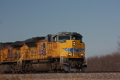 56927 (richiekennedy56) Tags: unionpacific sd70ace ac44cw up8668 up6360 kansas shawneecountyks topeka menoken railphotos unitedstates usa