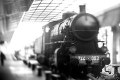 locomotiva (PiePPo) Tags: treno locomotiva freelensing bw blackandwhite blackwhite art nikonitalia nikon nikond7100 cagliari stazione cagliarilove